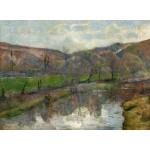 Grafika-01853 Paul Gauguin : Paysage Breton, 1888