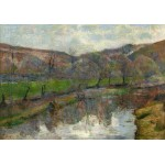 Grafika-01854 Paul Gauguin : Paysage Breton, 1888