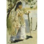Grafika-01860 Auguste Renoir : Femme à la Barrière, 1866