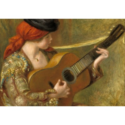 Grafika-01868 Auguste Renoir : Jeune Femme Espagnole avec une Guitare, 1898