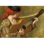 Grafika-01869 Auguste Renoir : Jeune Femme Espagnole avec une Guitare, 1898