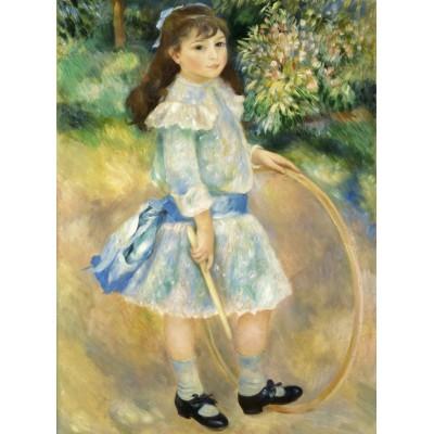 Grafika-01870 Auguste Renoir : Fillette au cerceau, 1885