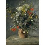Grafika-01872 Auguste Renoir : Fleurs dans un Vase, 1866