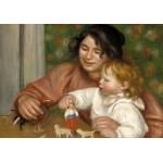Grafika-01878 Auguste Renoir : Gabrielle et le Fils de l'Artiste, Jean, 1895-1896