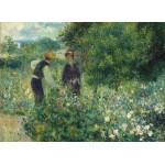Grafika-01893 Auguste Renoir : Cueillette de Fleurs, 1875