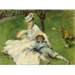 Grafika-01900 Auguste Renoir : Madame Monet et son Fils, 1874