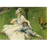 Grafika-01901 Auguste Renoir : Madame Monet et son Fils, 1874