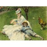 Grafika-01902 Auguste Renoir : Madame Monet et son Fils, 1874