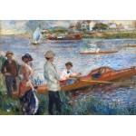 Grafika-01907 Auguste Renoir : Rameurs à Chatou, 1879