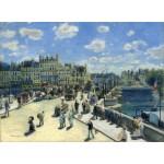 Grafika-01909 Auguste Renoir : Pont Neuf, Paris, 1872