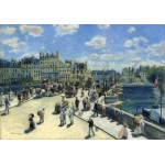 Grafika-01910 Auguste Renoir : Pont Neuf, Paris, 1872