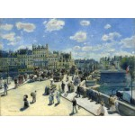 Grafika-01911 Auguste Renoir : Pont Neuf, Paris, 1872