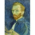 Grafika-01917 Vincent Van Gogh : Autoportrait, 1889