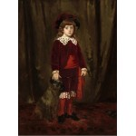 Grafika-01942 Mary Cassatt : Eddy Cassatt (Edward Buchanan Cassatt), 1875