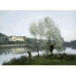 Grafika-01975 Jean-Baptiste-Camille Corot : Ville-d'Avray, 1865