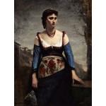 Grafika-01979 Jean-Baptiste-Camille Corot : Agostina, 1866