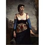 Grafika-01981 Jean-Baptiste-Camille Corot : Agostina, 1866