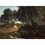Grafika-01987 Jean-Baptiste-Camille Corot : Forêt de Fontainebleau, 1834