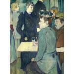 Grafika-01990 Henri de Toulouse-Lautrec : Au Moulin de la Galette, 1892