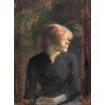 Grafika-01997 Henri de Toulouse-Lautrec : Carmen Gaudin, 1885