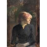 Grafika-01998 Henri de Toulouse-Lautrec : Carmen Gaudin, 1885