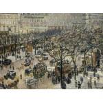 Grafika-02009 Camille Pissarro : Boulevard des Italiens Soleil du Matin, 1897