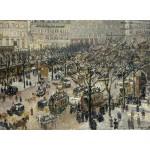 Grafika-02011 Camille Pissarro : Boulevard des Italiens Soleil du Matin, 1897