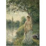 Grafika-02020 Pissarro Camille : La baigneuse, 1895