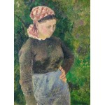 Grafika-02026 Camille Pissarro : Paysanne, 1880