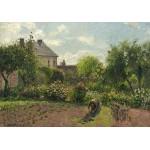Grafika-02034 Camille Pissarro : Le Jardin de l'Artiste à Eragny, 1898
