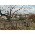 Grafika-02038 Camille Pissarro : La Barrière, 1872