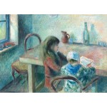 Grafika-02042 Camille Pissarro : Les Enfants, 1880