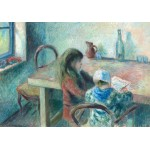 Grafika-02043 Camille Pissarro : Les Enfants, 1880