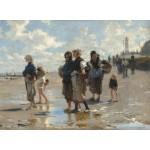 Grafika-02057 John Singer Sargent : En Route Pour la Pêche, 1878