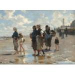 Grafika-02059 John Singer Sargent : En Route Pour la Pêche, 1878