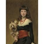 Grafika-02065 John Singer Sargent : Miss Beatrice Townsend, 1882