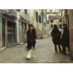Grafika-02078 John Singer Sargent : Rue à Venise, 1882
