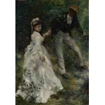 Grafika-02088 Pierre-Auguste Renoir : La Promenade, 1870