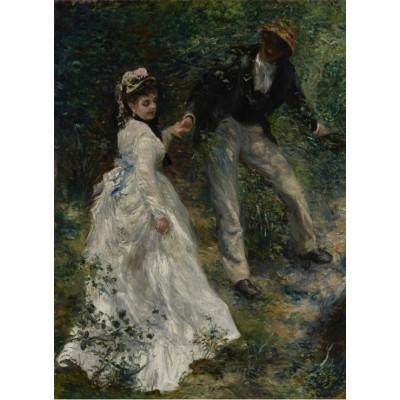 Grafika-02089 Pierre-Auguste Renoir : La Promenade, 1870