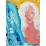Grafika-02104 La Jeune Femme aux Cheveux Blancs