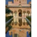 Grafika-02111 Joaquin Sorolla y Bastida : Hall des Ambassadeurs, Alhambra, Grenade, 1909