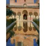 Grafika-02112 Joaquin Sorolla y Bastida : Hall des Ambassadeurs, Alhambra, Grenade, 1909