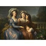 Grafika-02169 Louise-Élisabeth Vigee le Brun : La Marquise de Pezay et la Marquise de Rougé avec ses fils Alexis e