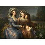 Grafika-02171 Louise-Élisabeth Vigee le Brun : La Marquise de Pezay et la Marquise de Rougé avec ses fils Alexis e