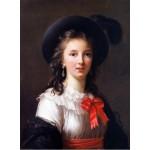 Grafika-02177 Louise-Élisabeth Vigee le Brun : autoportrait, 1781