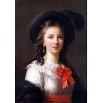 Grafika-02178 Louise-Élisabeth Vigee le Brun : autoportrait, 1781