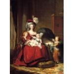 Grafika-02181 Louise-Élisabeth Vigee le Brun : Marie Antoinette et ses enfants, 1787