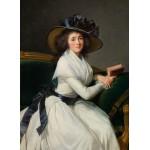 Grafika-02184 Louise-Élisabeth Vigee le Brun : Comtesse de la Châtre (Marie Charlotte Louise Perrette Aglaé Bontem