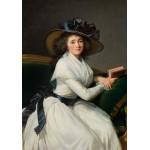 Grafika-02185 Louise-Élisabeth Vigee le Brun : Comtesse de la Châtre (Marie Charlotte Louise Perrette Aglaé Bontem