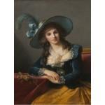 Grafika-02186 Louise-Élisabeth Vigee le Brun : Comtesse de Segur, 1785